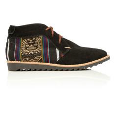 Inkkas chukkah desert shoes in blackbird