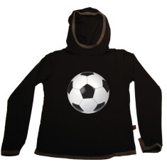 Kids' soccer ball hoodie