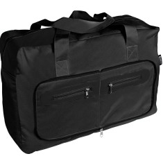 Black foldaway traveller bag