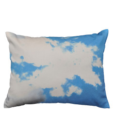 Blue sky cushion