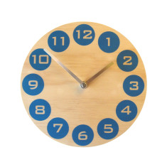 Objectify Blue Dot Wall Clock