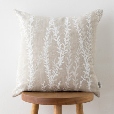 Gold Dust Wattle & Moreton Bay Fig cushion cover