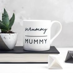 Scrummy Mummy Bone China Mug