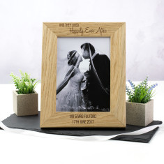 Personalised Happily Ever After Photo Frame