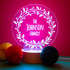 Personalised Family Light