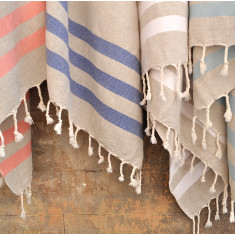 Linen towel (various colours)