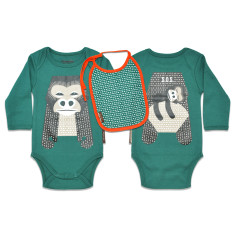 Gorilla onesie set