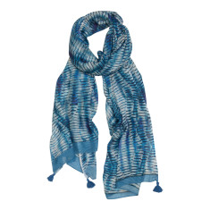 Swizzle stick luxe scarf
