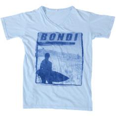 Men's Bondi blue t-shirt