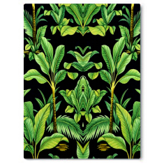 Botanical Deco abstract canvas