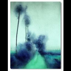 Ocean Blv canvas print