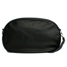 Leather Dasher Bag - Black