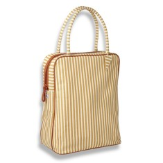 Bowling bag in Listra's caramel