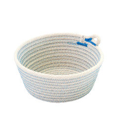 Rope Basket - Blue