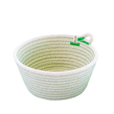 Rope Basket - Green