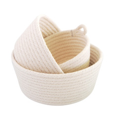 Rope Basket Set - Natural