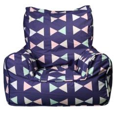 Girls' bow tie bean chair cover