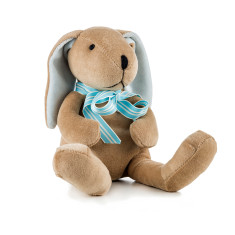 Boy bunny soft toy