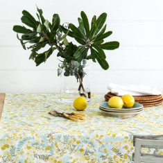 Tablecloth - Wattle cream