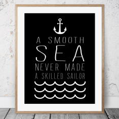 Smooth Sea print