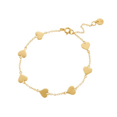 Lovestruck bracelet in gold vermeil