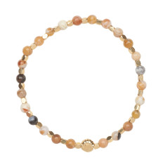 Signature bracelet in brandy opal