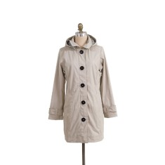 Pipduck Brody raincoat in beige