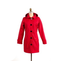 Pipduck Brody raincoat in red