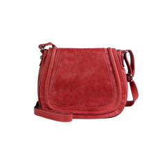 Brooklyn shoulder bag in cherry