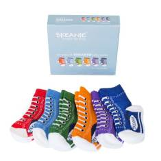 Baby sneakers socks (6-pack)