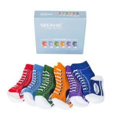 Baby sneakers socks (6-pack)