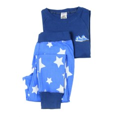 Hightop blue star track style pyjama set