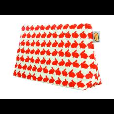 Kissing Rabbits Medium Cosmetic Toiletry Bag