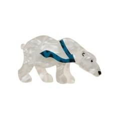 Erstwilder Pacv the polar bear brooch