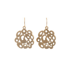 Bubble earrings (gold)