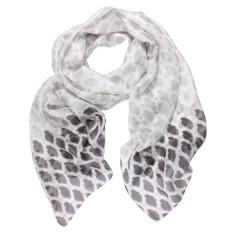 Grayson print silk scarf (various colours)