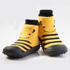 Busy bee non-slip socks