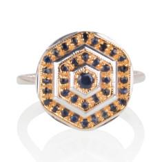 Lady Lorna sapphire ring