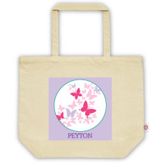 Girls' personalised tote bag