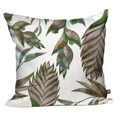 River Shack Ginger Floral Cushion Cover - Parchment