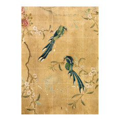 IXXI chinese wallpaper no 5 gold wall art