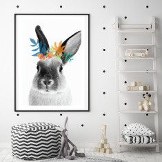 Bunny boy art print (various sizes)