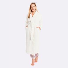 Plush Robe Ivory