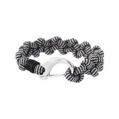 Castaway cuff bracelet in zebra