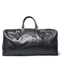 The Flero El Personalised Large Leather Travel Bag