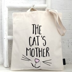 The cat's mother tote bag