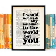 Wedding quote romantic Shakespeare print