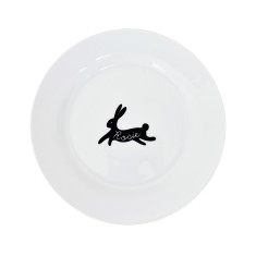 Easter Personalised Bunny Rabbit Dinner Plate
