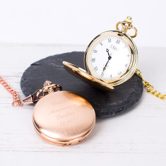 Classic Face Pocket Watch