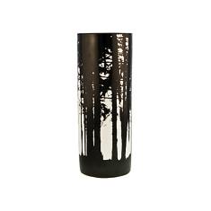 Woodlands vase in black